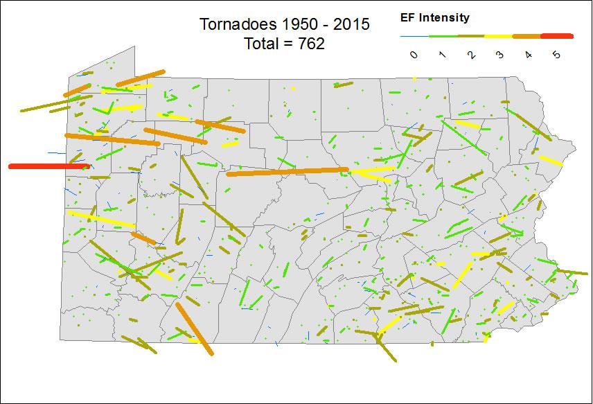 Pa Tornados 1950 2011